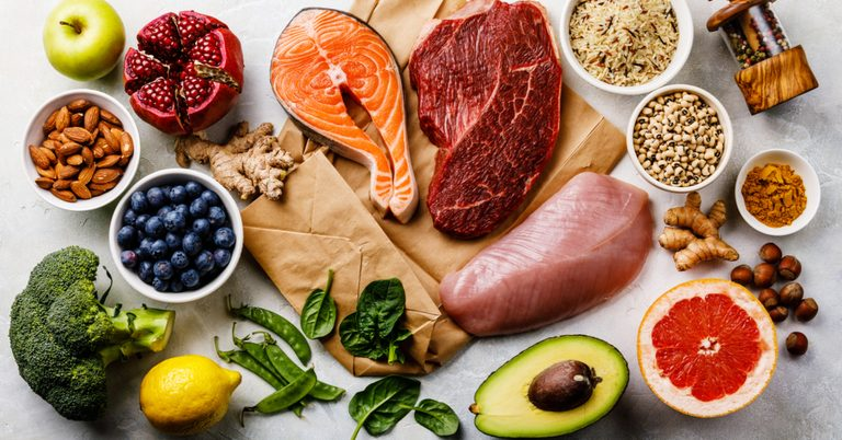 grupo de alimentos para una dieta balanceada